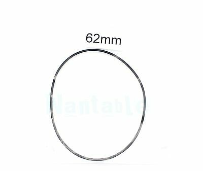 62mm Rubber Drive Belt Replacement Part for Cassette Tape Deck Recorder