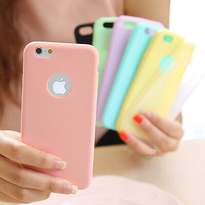 Ultra Slim Soft Silicone TPU Back Case Cover For Apple iPhone 5 SE 6 6s 7 7 Plus