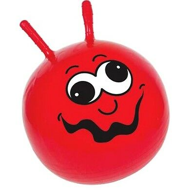Childrens Junior Red Small Retro Space Hopper - Kids 1970's Outdoor Bouncy Toy