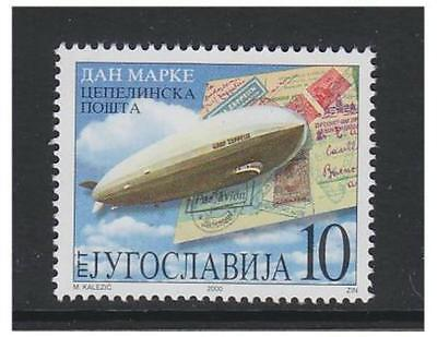 Yugoslavia - 2000, 10d Stamp Day (Zeppelin) stamp - MNH - SG 3254