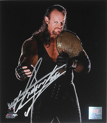 Wwe Undertaker Signed Photofile Photo With Exact Proof 4
