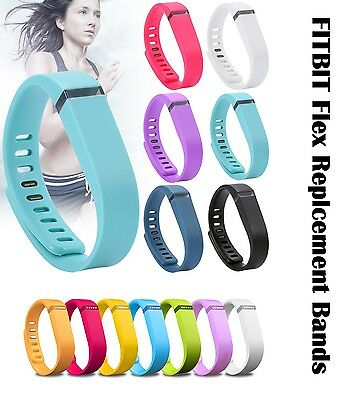 Replacement Large Small Bracelet Wrist Band Clasp No Tracker For Fitbit Flex