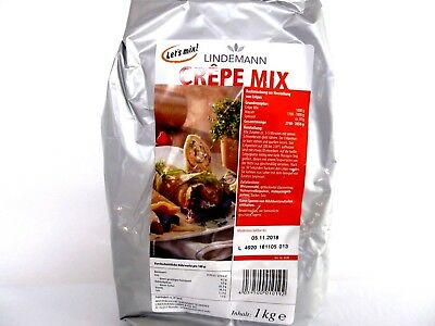 Crepe Mix Crepes Backmischung, mit Ei, 1 kg