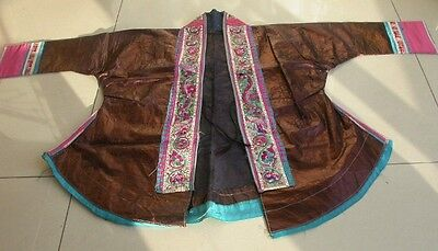 Chinese Minority's old  Embroidery Local cloth jacket