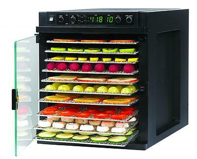 Tribest Sedona SDE-S6780-B Express Food Dehydrator with 11 Stainless Steel Trays