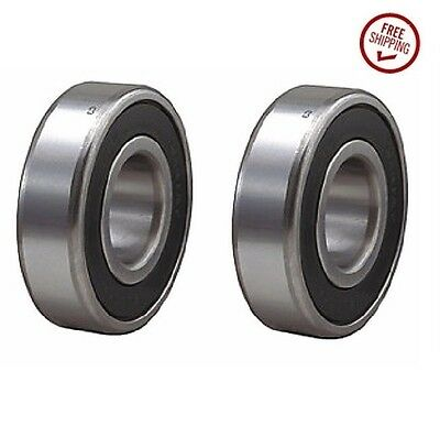 "(Pack of 2) Acor Precision Sealed Ball Bearing 15mm ID x 1-3/8"" OD"