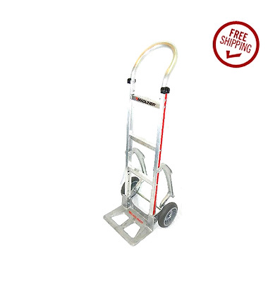 Magliner 111-A-830-C5 Hand Truck with Balloon Cushion Tires and Stair Climbers