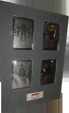 Harry Potter and the Half-Blood Prince SDCC 2009 Metal Chase Card Set