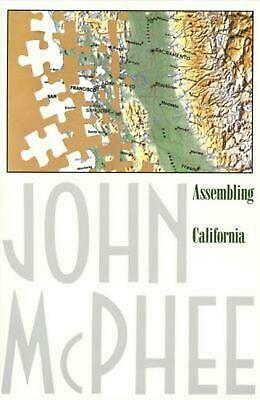 Assembling California by John McPhee (English) Paperback Book Free Shipping!