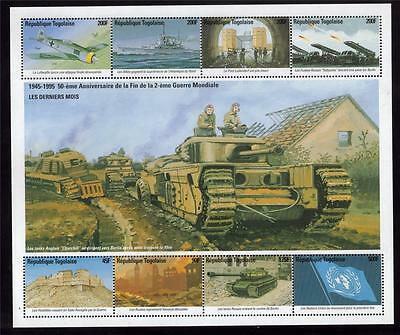 Togolaise Mnh Victory In Europe - The Final Months Minisheet