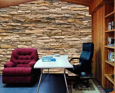 3D Laminated Wood Stereo Paper Wall Print Decal Wall Deco Indoor wall Murals