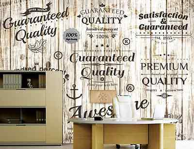 3D White Wooden Stamp Wall Paper Wall Print Decal Wall Deco Indoor wall Murals