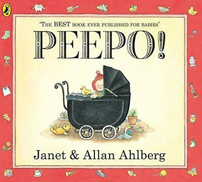 Peepo!, Ahlberg, Janet Paperback Book The Cheap Fast Free Post