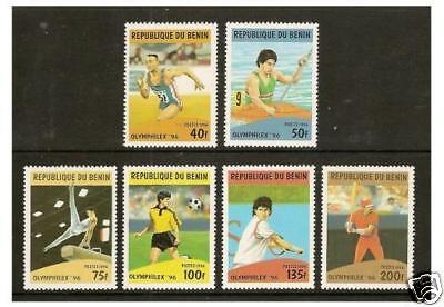 Benin - 1996 Olympic Games set - MNH - SG 1400/5