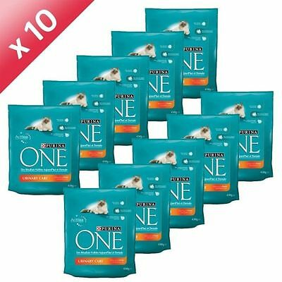 PURINA ONE Urinary Care Poulet Blé 450g (x10) - Purina One Chat - Lot d NEUF
