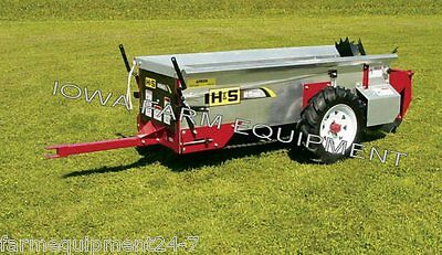H&S 25 Bu Ground Driven Manure Spreader: ABSOLUTELY BEST BRAND & BUY!!!