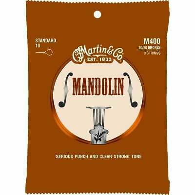Martin Mandolin Strings 10 - 34 M400 80/20 Bronze Top Quality