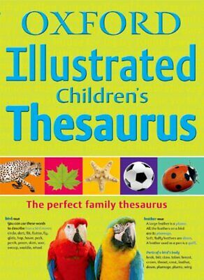 Oxford Illustrated Children's Thesaurus Paperback Book