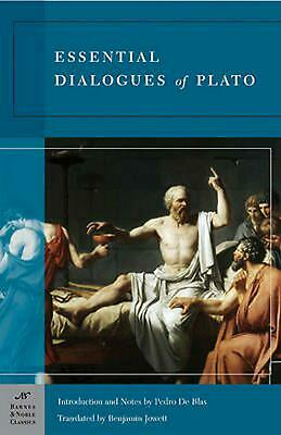 Essential Dialogues of Plato by Plato (English) Paperback Book Free Shipping!
