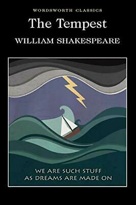 The Tempest (Wordsworth Classics) by Shakespeare, William Paperback Book