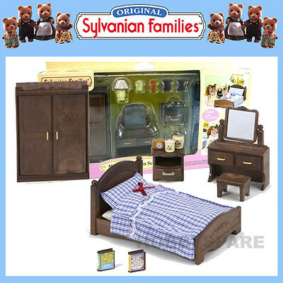 New Sylvanian Families Master Bedroom Furniture Bedding Set 5039