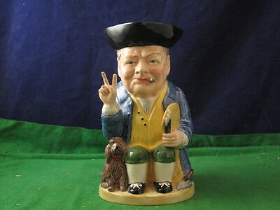 Manor Collectables Winston Churchill Winston Rufus Toby Jug No 272 USC RD3822