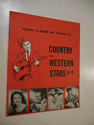 """Booklet """"Country and Western Stars"""" with 5 Autographs"""