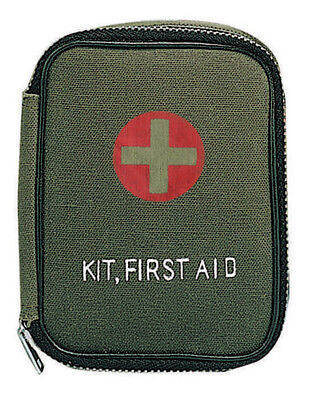 Rothco Military Zipper First Aid Kit - Od