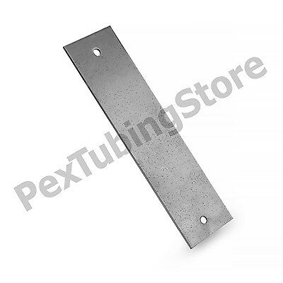 "100pcs of Steel Stud Guard Plates with nail holes, 1.5"" x 6"" , 16-Gauge"