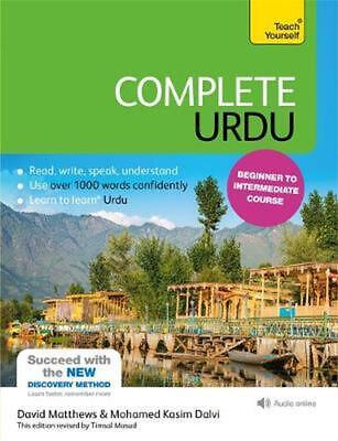 Complete Urdu Beginner to Intermediate Course: (Book and audio support) by David