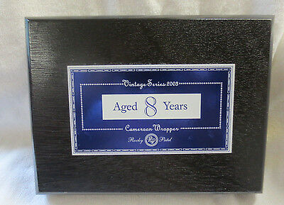 Rocky Patel Vintage Series 2003  20 Count Robusto Wood Cigar Box - Beautiful !!!
