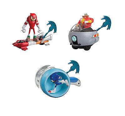 Tomy Sonic Boom Feature Action Figure - Sonic Dr Eggman or Knuckles with ripcord