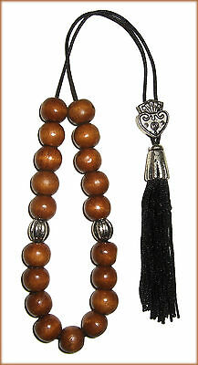 Greek Komboloi Worry Beads Stress Relief Limits Smoking Small Wooden Beads