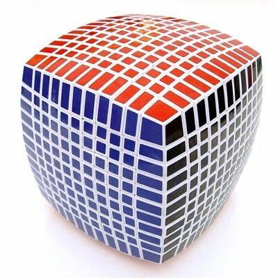 Magic Cube Puzzle 11x11x11 Intelligence Toy White Speed Fancy Rare Twist Game