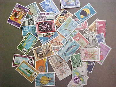 40 Different Virgin Islands Stamp Collection - Lot