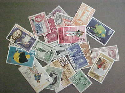 20 Different Virgin Islands Stamp Collection - Lot
