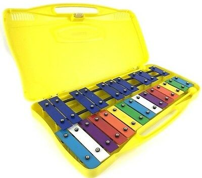 BRAND NEW Angel G2-G4 AX25K 25-Note Xylophone Glockenspiel with Beaters