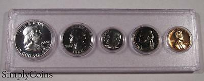 1960 Proof Set ~ GEM Uncirculated ~ 90% Silver US Coin Lot