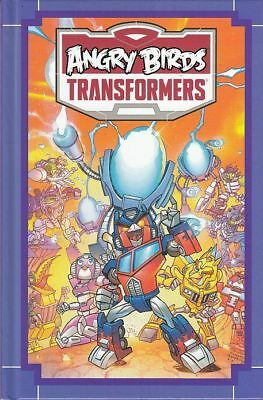 ANGRY BIRDS TRANSFORMERS: AGE OF EGGSTINCTION Hard Cover (IDW Books) FREE UK P+P