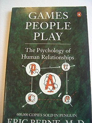 GAMES PEOPLE PLAY, Eric Berne Paperback Book The Cheap Fast Free Post