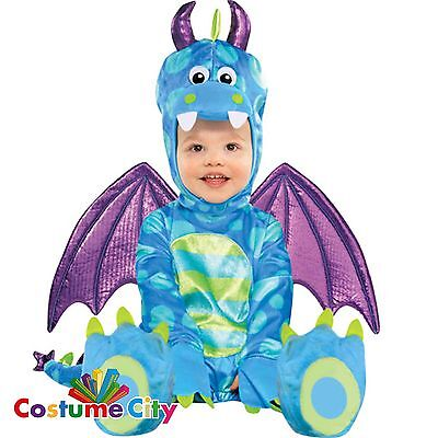 Little Baby Dragon Costume Babies Toddlers Fancy Dress Halloween Party