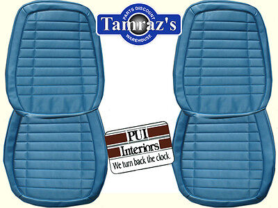 1970 Firebird Front & Rear Seat Upholstery Covers Deluxe Interior PUI New