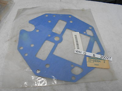 New 27-89084 2  Gasket   Mercury Mercruiser Quicksilver