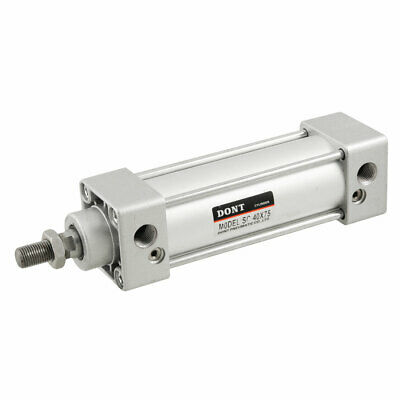 SC40X75 40mm Bore 75mm Stroke Single Rod Double Action Air Cylinder