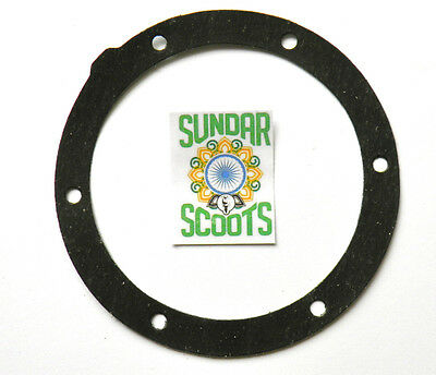 Single  Magneto Flange  Gasket. Suitable For Lambretta Scooters Gp, Li, Sx & Tv