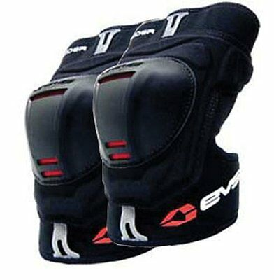 EVS Youth Glider Knee Guards Black One Size Pair