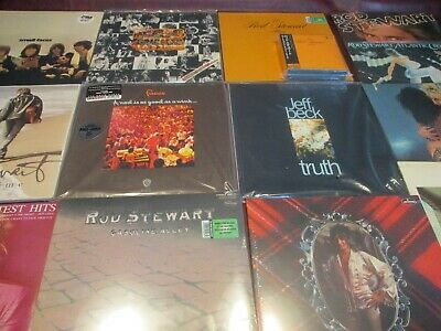 ROD STEWART DCC NEVER A Dull Moment 180G COLLECTION 11 AUDIOPHILE LP'S + LPS&CD