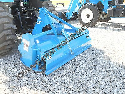 """Rotary Tiller, LS 60"""" Gear Drive, 42 Blades:Made In USA! 1 Only@This Sale Price!"""