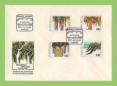 Portugal 1977 Natural Resources, Forests  First Day Cover