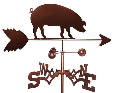 Pig  Weathervane (Roof Mounting Included)